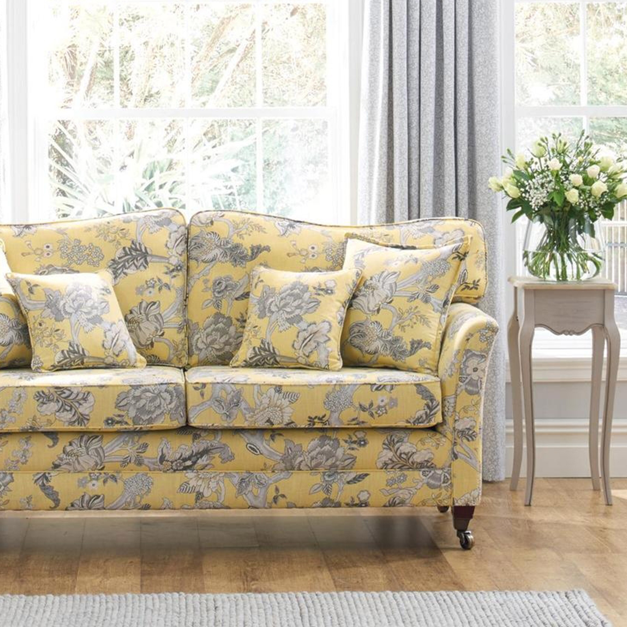 Fabric Details Blenheim Saffron