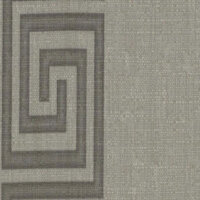 greek key contemporary grey